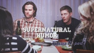 Supernatural Humor Season 11 | She's got Sparkle on her face! [1]