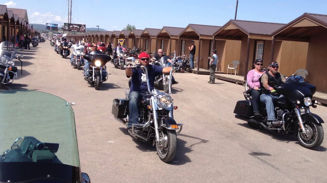 Full throttle saloon 2013 ride to crazy horse youtube