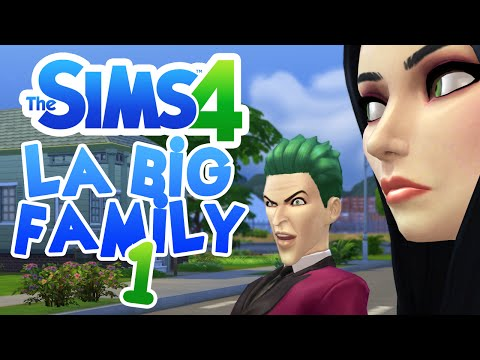 SIMS 4 #LABIGFAMILY (PART 1) ♦ Création du foyer de psychopathes