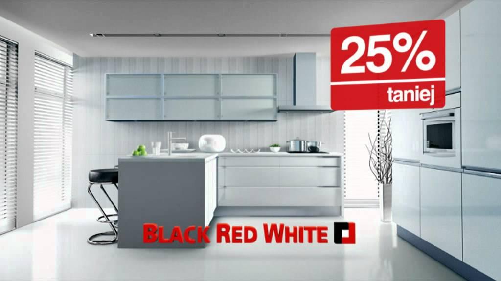 kuchnie na wymiar 25 taniej black red white youtube