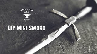 DIY Mini Sword