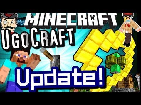 Minecraft UGOCRAFT Update! New Wireless Blocks!