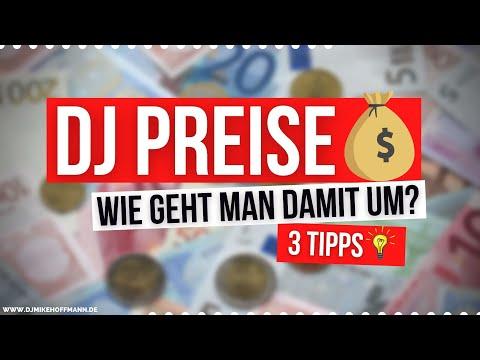 DJ PREISE 💰 3 Tipps   DJ Gage berechnen   Was verdient ein DJ   Preisverhandlung   DJ Tipps