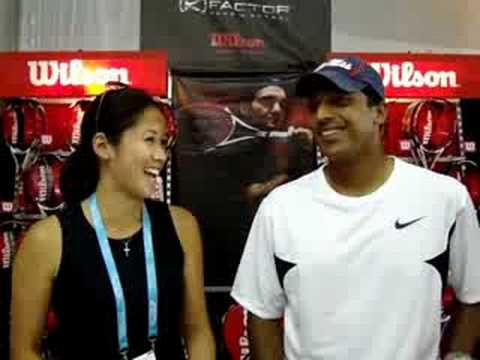 Wilson On Tour with Tour Players Mahesh Bhupathi, Kevin Ullyett, Rajeev Ram and Raquel Kops-Jones