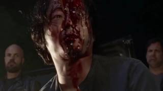 (GORE) Glenns death but every time he's hit peter parker says pizza time and the Spider-Man 2