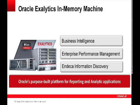 PT 1: Engineered Systems [Extreme Analytics - What's New w/ Oracle Exalytics X3-4 & T5-8?]