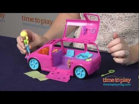 Polly Pocket Cruisin' Pet Spa from Mattel