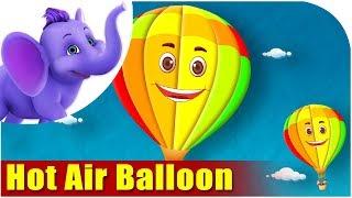 Hot Air Balloon - Vehicle Rhyme