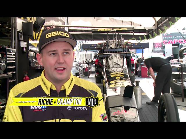 NHRA's Morgan Lucas Racing & Richie Crampton ready for Phoenix