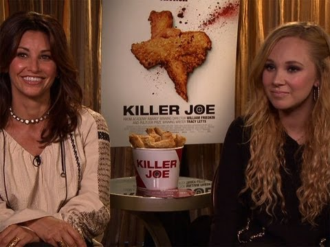 Gina Gershon and Juno Temple Talk 'Killer Joe'