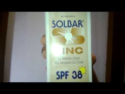 Buy Solbar Zinc Sun Protection Cream with SPF 38 - 4 Oz from Myotcstore.com