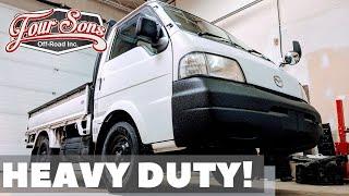 """Mega Mini Truck"" Custom 3/4 Ton Mazda Bongo 4x4"