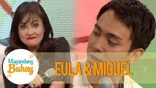 Magandang Buhay: Miguel describes Eula as a mom