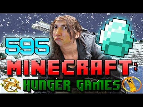 Minecraft: Hunger Games W mitch! Game 595 - Solosnowglobe Diamonds! video