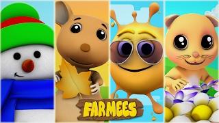 Seasons Song | Nursery Rhymes | Kids Songs | Baby Rhymes | Children Videos by Farmees