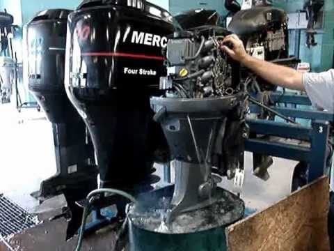 2003 Yamaha 60 Hp Outboard Engine Youtube