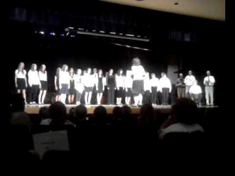 Charlottesville Waldorf School 7th & 8th Grade Choir sings Jenga Imani
