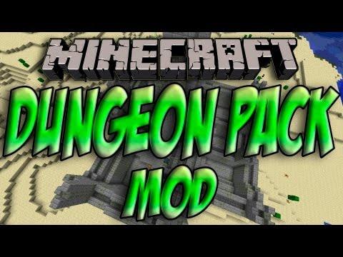 Minecraft 1.5.2 - Como Instalar DUNGEON PACK MOD - ESPAÑOL [HD] 1080p