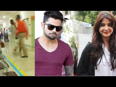 Caught: Anushka Sharma And Virat Kohli At A Hospital