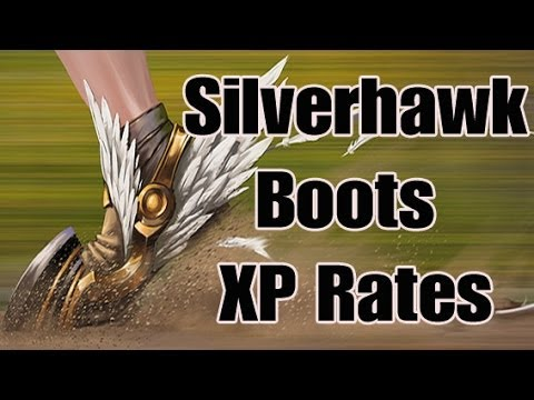 SILVERHAWK BOOTS – Agility XP Rates – Unjustifiably executed? RuneScape