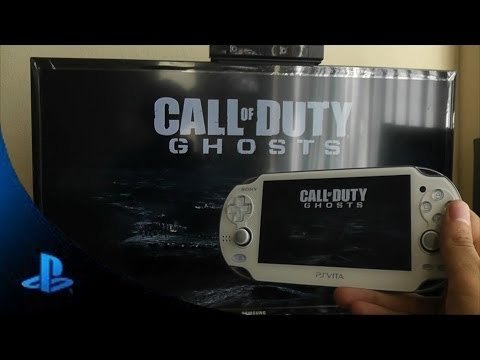 PS Vita Call Of Duty Ghost Gameplay Remote Play