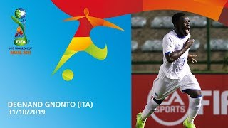 Gnonto v Mexico [GOAL OF THE TOURNAMENT] - FIFA U17 World Cup 2019 ™