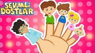 Parmak Ailesi çizgi film çocuk şarkıları 75DK Sevimli Dostlar   Kids Songs and Nursery Rhymes
