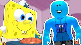 SPONGEBOB SQUAREPANTS IN ROBLOX! (Escape the Krusty Krab Obby)