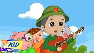 Chú Bộ Đội (Soldier) - Mẹ Đi Vắng   Nhạc Thiếu Nhi Ý Nghĩa Hay Nhất Cho Bé