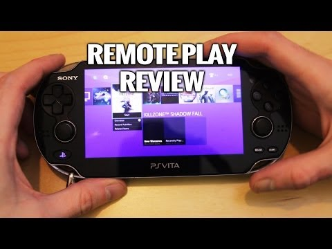 PlayStation 4 Remote Play with PS Vita review