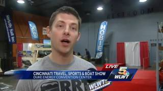 Cincinnati Travel, Sports and Boat Show starts Friday at Duke Energy Convention Center