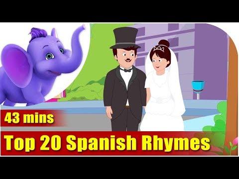 Top 20 Spanish Rhymes video