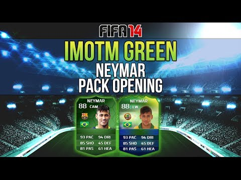 iMOTM World Cup Special Pack Opening - FIFA 14 Ultimate Team iMOTM Neymar Hunt