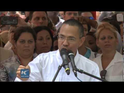 Cuban Five enjoy heroes' welcome in Venezuela