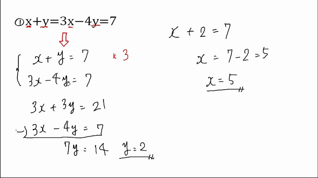 連立方程式 - Simultaneous equations ... : 中学生 問題集 無料 : 中学