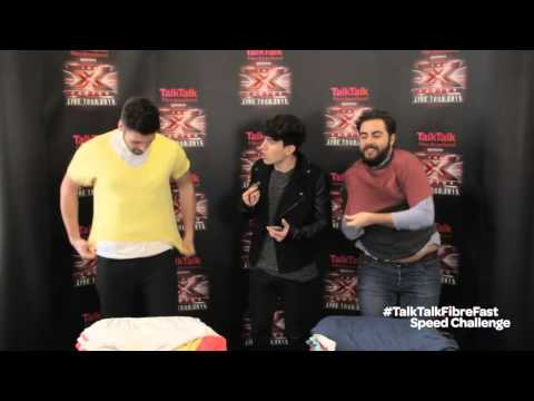 The X Factor Live Tour 2015: #TalkTalkFibreFast Funk with Ben and Andrea Faustini