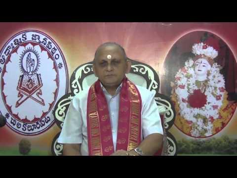 """""""Upadesa Saram"""" Of Bhagavan Sri Ramana Maharshi : Day 02 :Shlokam 1 : Sri Chalapathirao"""