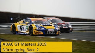 ADAC GT Masters Race 2 Nürburgring 2019 Re-Live English