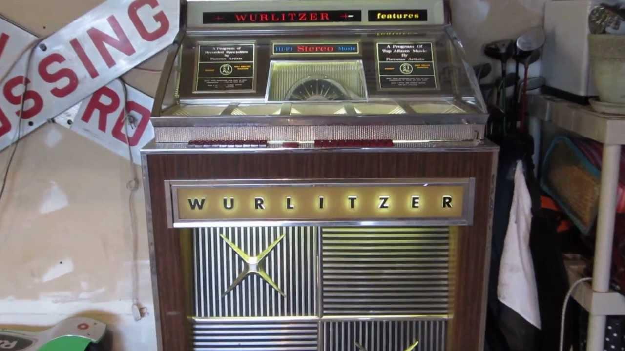 100 Amp Disconnect >> Wurlitzer 2910 jukebox 1965 45 rpm Surfin Bird The ...
