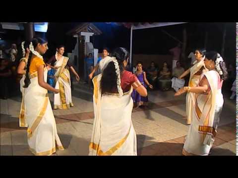 Thiruvathira Dance (angane Njan) video