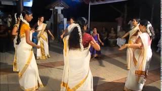 Thiruvathira Dance (angane njan)
