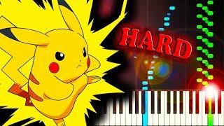 BATTLE! WILD POKEMON (RED/BLUE/YELLOW) - Piano Tutorial