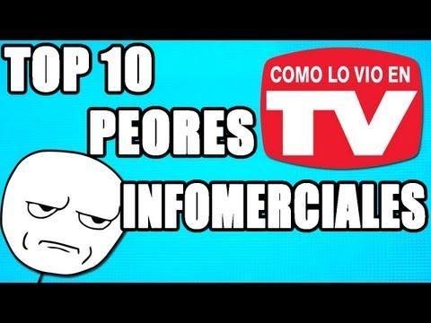 Top los 10 Peores Infomerciales (Loquendo)