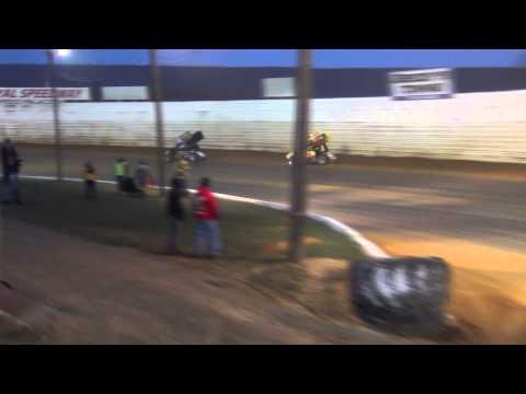 Port Royal Speedway 410 Sprint Car Highlights 04-11-15