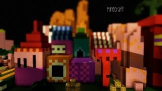 Minecraft Its a Small World Ride (EPIC Proportions)