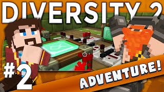 Minecraft - Diversity 2 - Tea Break (Adventure Part 2)