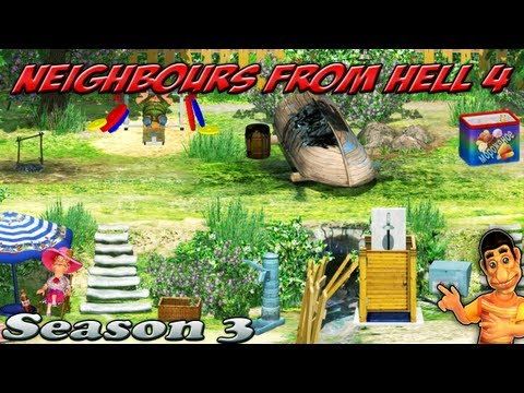 Neighbours From Hell 4 - Season 3 [100% walkthrough]