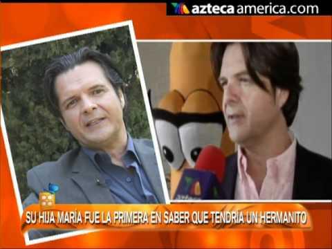 Ariel López Padilla será papá a sus 50 años