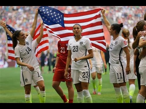 U.S. Better at Women's Soccer Than Gender Equality