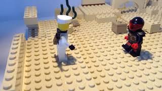 Lego Ninjago Zane vs Mr E
